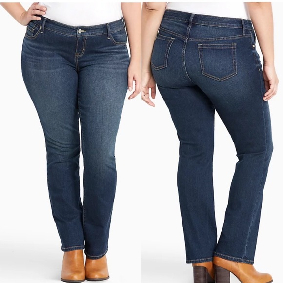 NWT Torrid Jeans Premium Stretch Barely Boot 18XT